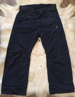 G-Star Raw Pantalon «Baggy» bleu foncé