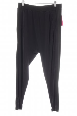 Baggy Pants schwarz Casual-Look