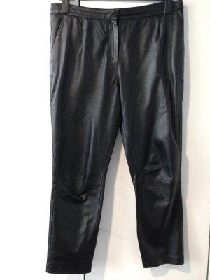 Baggy Pants/ weite Hose aus echtem Leder von H&M Trend, Gr. 42