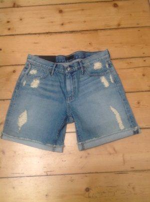 Denim Shorts azure mixture fibre