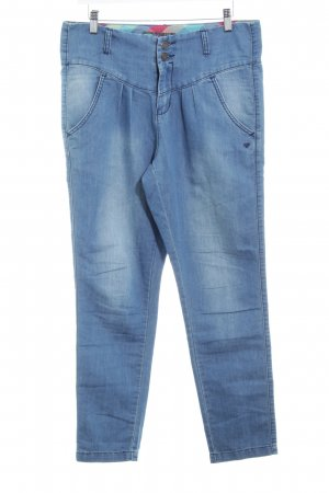 Baggy Jeans cornflower blue simple style