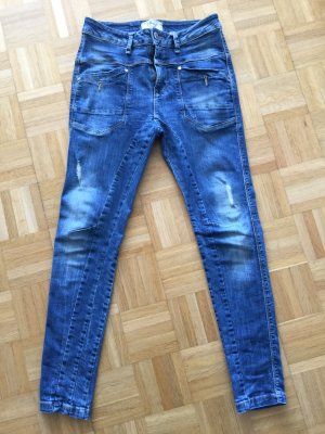 LTB Baggy Jeans steel blue cotton