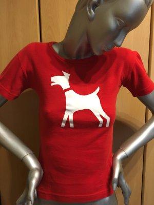 Camiseta estampada rojo Algodón