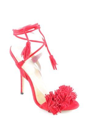 BaiBeiqi High Heel Sandal red elegant