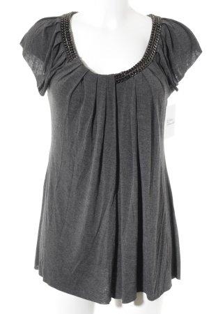 Bailey44 T-shirt grijs casual uitstraling