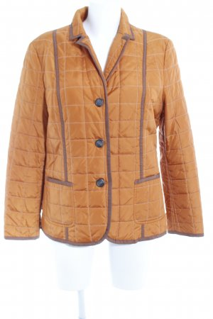 Bailly Diehl Quilted Jacket orange quilting pattern casual look