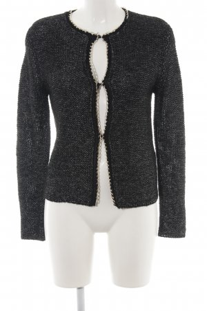 Bailly Diehl Knitted Cardigan black-gold-colored casual look