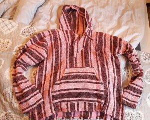Baja Hoodie Eco Öko Bajahoodie Sweater Kapuze Mexiko Hippie Boho