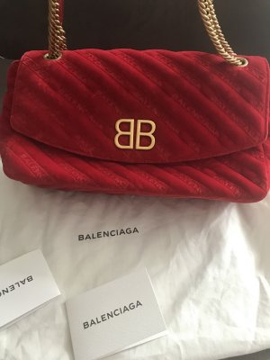 Balenciaga Shoulder Bag red-gold-colored leather