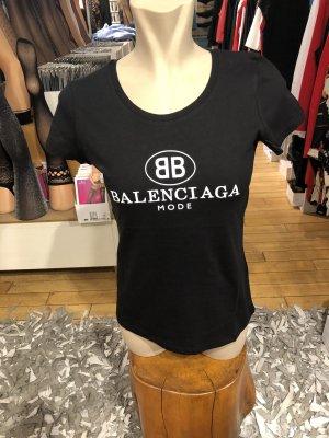 Balenciaga Camiseta negro