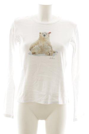 Balbina Sweat Shirt themed print casual look