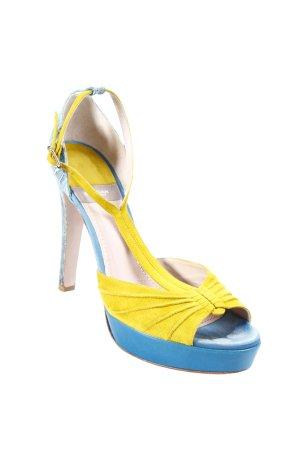 Baldan Sandalias de tacón alto multicolor elegante