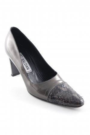 new arrival dfd4a 6a2d0 Baldan High-Front Pumps herringbone pattern business style
