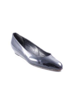 Baldan Lakleren ballerina's zwart zakelijke stijl