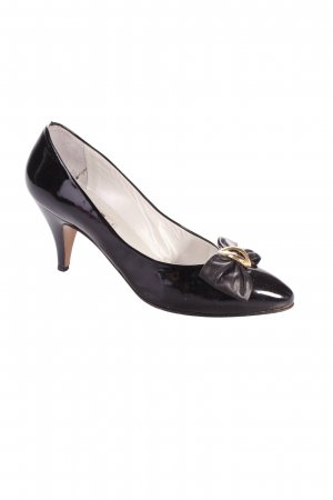 Baldan Pumps black leather-look