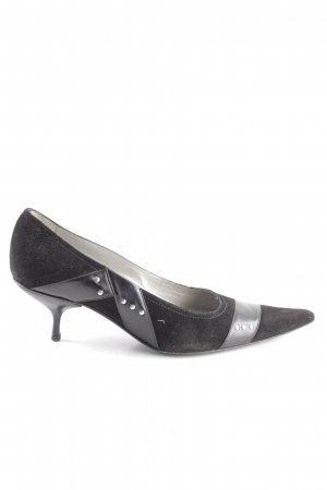Baldan Stiletto noir style d'affaires
