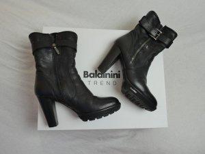 Baldinini Boots in schwarz mit Fell gefüttert