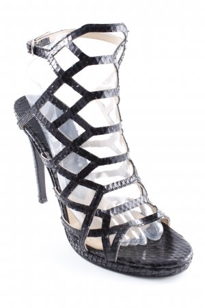 Baldinini High Heel Sandaletten schwarz Party-Look