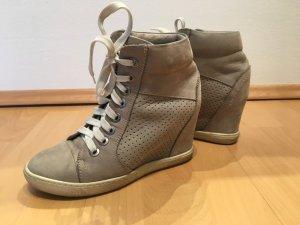 Baldinini Heel Sneakers oatmeal-beige