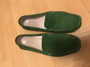 Baldinini Shoes forest green leather