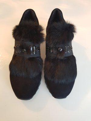 Baldinini High Top Sneaker black