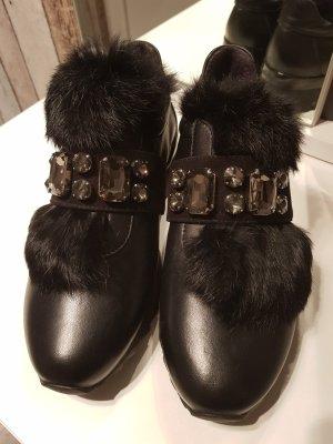Baldinini Sneaker alta nero