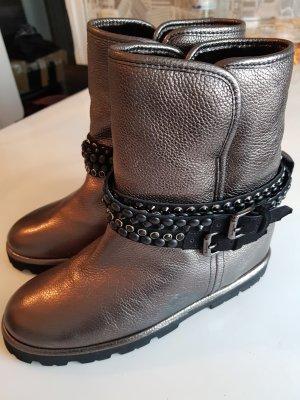 Baldinini Winter Booties silver-colored