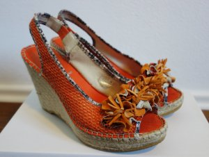 Baldinini Wedge Sandals orange