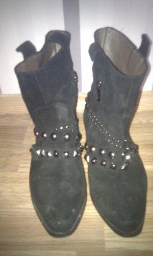 Baldinini Shoes black brown suede