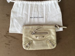 Balenciaga Clutch camel leather