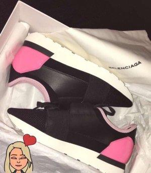 Balenciaga Lace-Up Sneaker multicolored