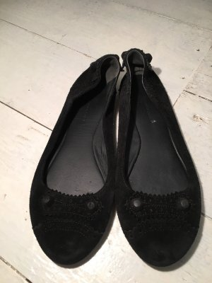 Balenciaga Foldable Ballet Flats black