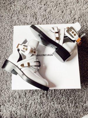 Balenciaga Stivale bianco-nero