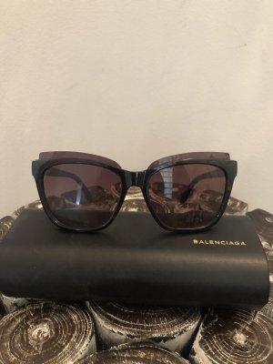 Balenciaga Lunettes brun noir
