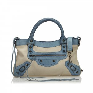 Balenciaga Satchel light grey