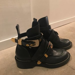 Balenciaga Ceinture Cut-Out Boots