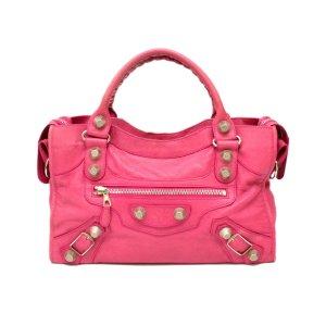 Balenciaga Bolso rosa Cuero