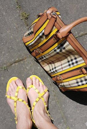 Balenciaga Teenslippers goud-geel