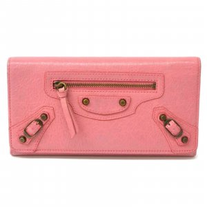 Balenciaga Wallet pink leather