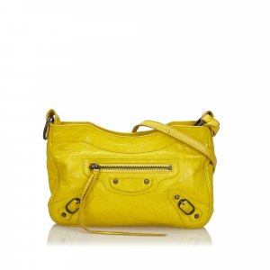 Balenciaga Crossbody bag yellow leather
