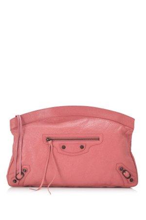Balenciaga Borsa clutch rosa pallido Pelle