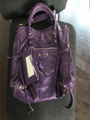 Balenciaga Classic Velo Violett/Gold