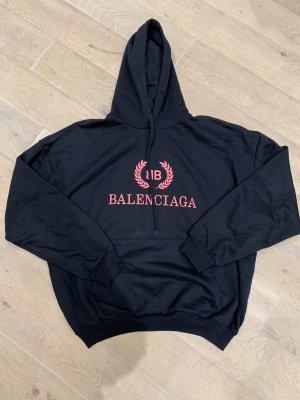Balenciaga Sweat black-bright red