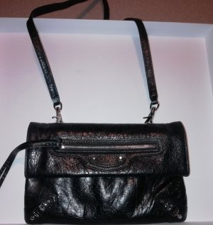 Balenciaga Crossbody bag black leather