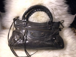 Balenciaga First Bag Lammleder schwarz 100% ORIGINAL!!!