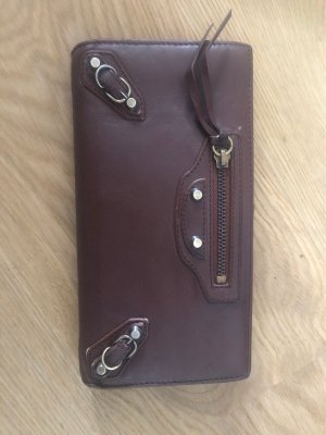 Balenciaga Wallet brown leather