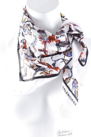 Balenciaga Foulard motif floral élégant