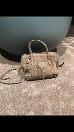 Balenciaga Handbag grey brown