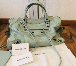 Balenciaga Handbag light blue-turquoise