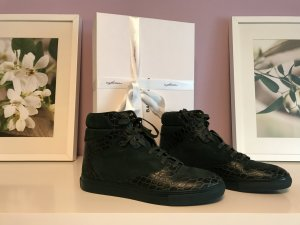 Balenciaga Sneaker alta verde scuro-verde bosco